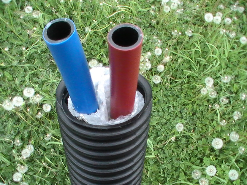 Insulated underground piping